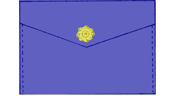 Free pattern: Simple felt clutch/envelope