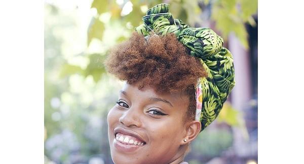 Tutorial: DIY reversible head wrap