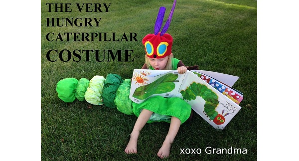 Tutorial: The Very Hungry Caterpillar costume for a child