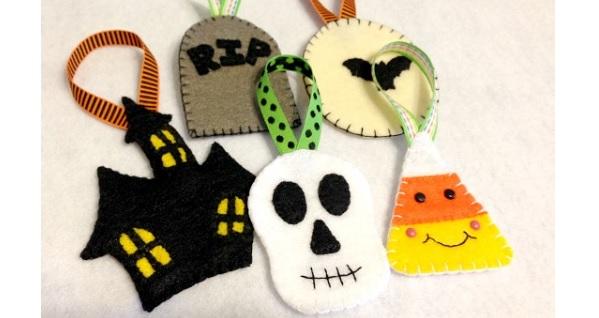 free pattern  felt halloween ornaments  u2013 sewing
