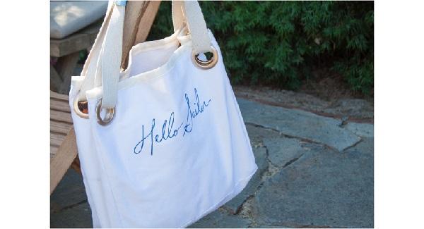 Tutorial: Hello Sailor grommet tote