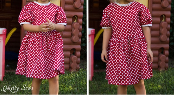 Free Pattern Minnie Mouse Birthday Dress Sewing