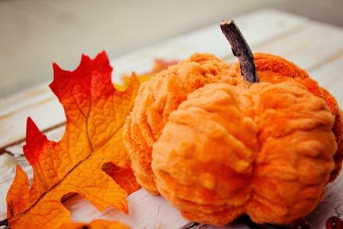Tutorial: Scrunched Minky Pumpkin