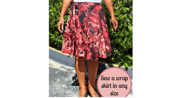 Tutorial Draft And Sew A Half Circle Wrap Skirt Sewing