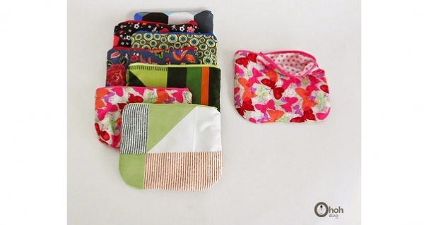 Tutorial: 30-minute zippered pouch