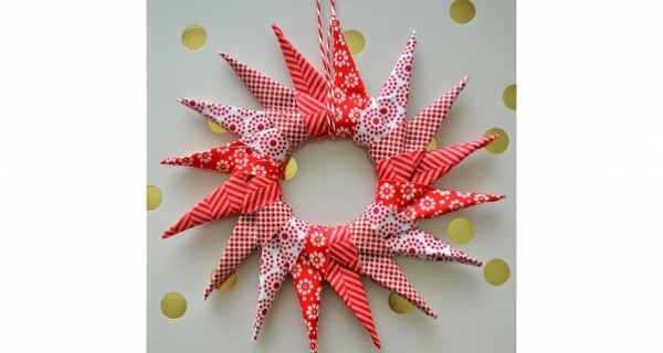 Tutorial: Origami Star Ornament