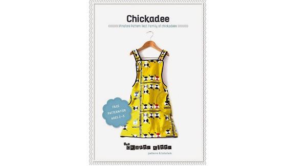 Free pattern: Little girls Chickadee Pinafore