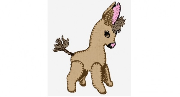 Free pattern: Trixie the Donkey