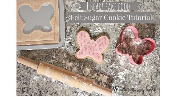 Tutorial: Felt sugar cookie baking play set