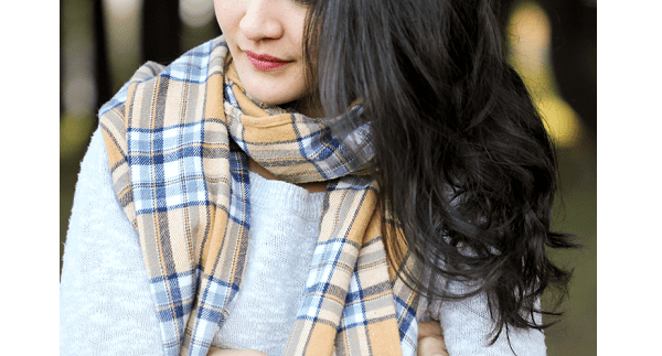 Tutorial: Make a simple flannel scarf