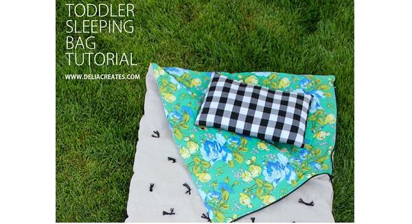 Tutorial: Toddler sleeping bag