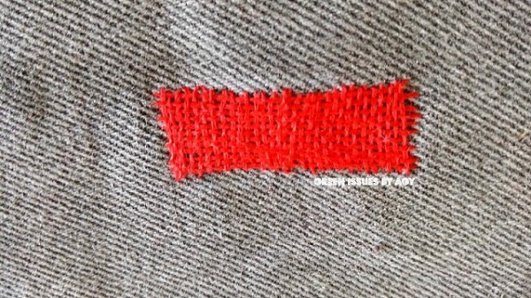 Video tutorial: Thread weaving to patch a hole in your jeans