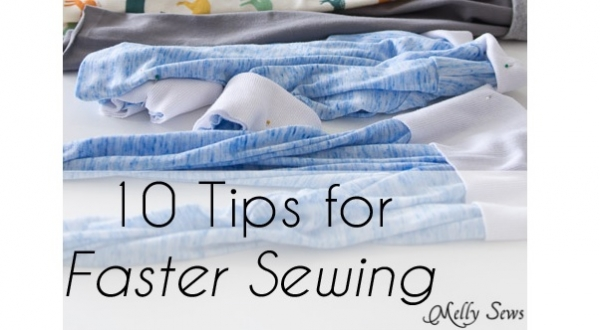 10 tips for streamlining your sewing