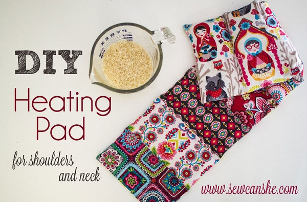 Tutorial Heating Pad For Your Shoulders And Neck Sewing