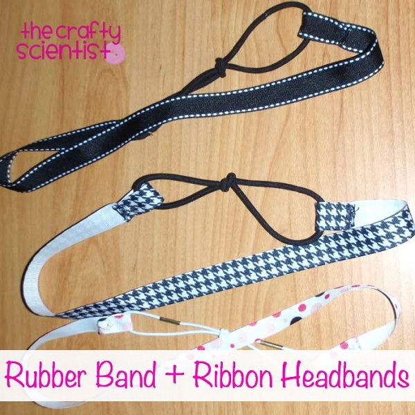 Tutorial: Easy ribbon headbands
