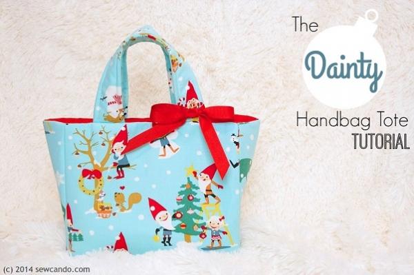 Tutorial: Dainty Handbag Tote