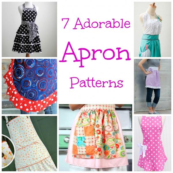 7 Adorable Apron Patterns