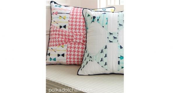 Tutorial: Bow pillow