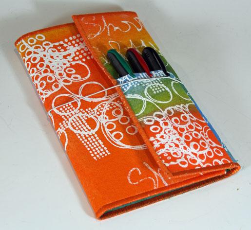Tutorial: Fabric note pad folio