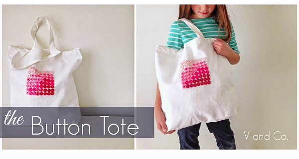 Tutorial: Button Tote
