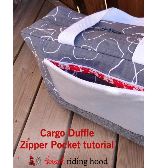 Tutorial: Zippered patch pocket
