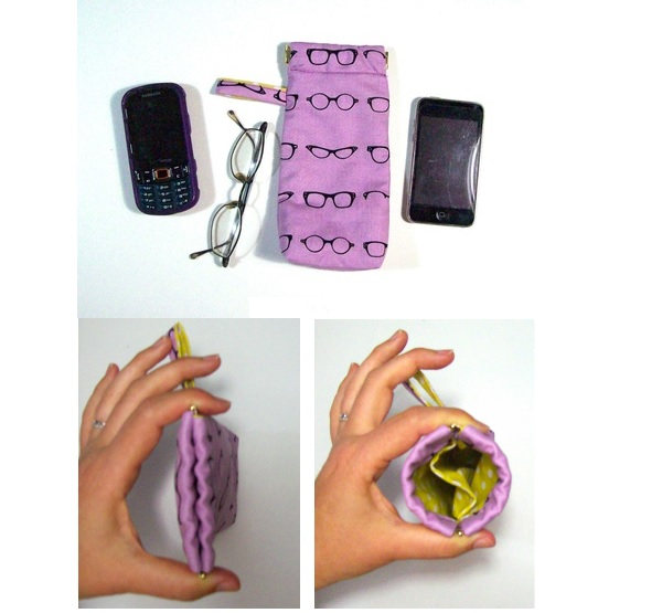 Tutorial: Double pocket eyeglass case