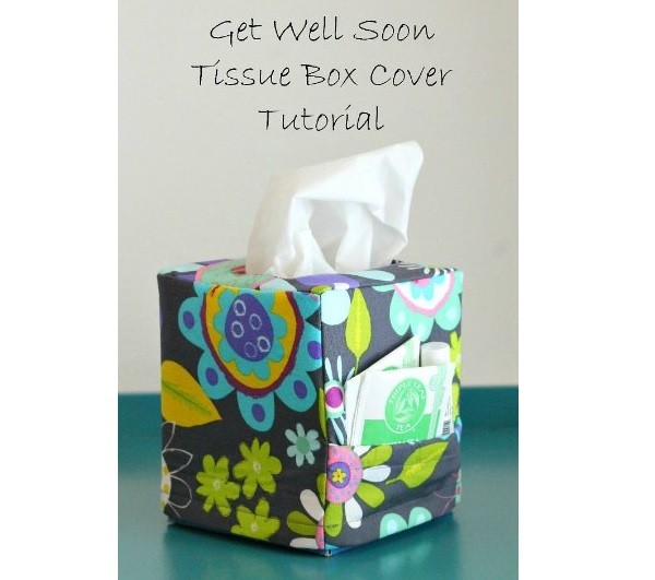 Tutorial: Get Well Soon tissue box cover