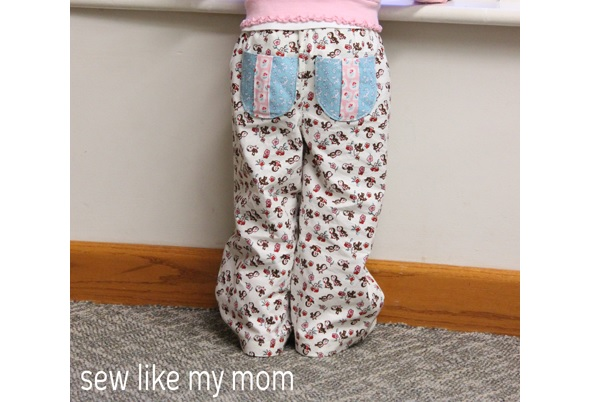 Free pattern: Pine Cone Pants in kid sizes   Sewing
