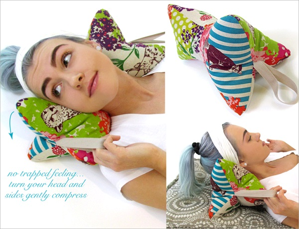 Tutorial: Make this neck support pillow in just 30 minutes