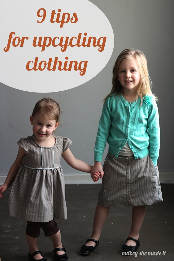 9 tips for upcycling or refashioning old clothing to new creations
