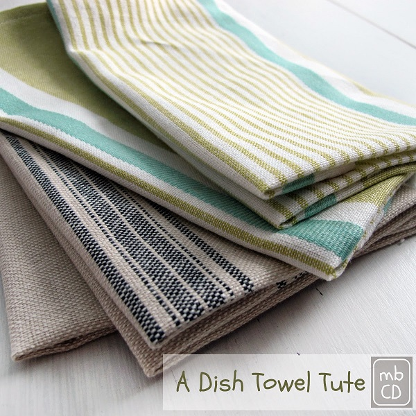 Tutorial: Sew up some pretty dish towels
