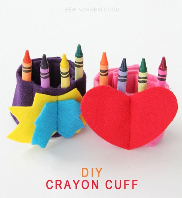Tutorial: Crayon cuff