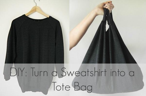 Tutorial: Sweatshirt Market Tote