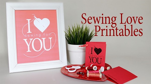 Freebie: I Heart Sewing For You printable
