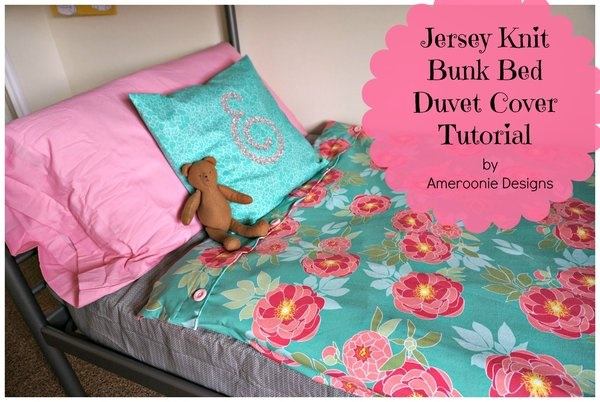 Tutorial Bunk Bed Duvet Covers Sewing