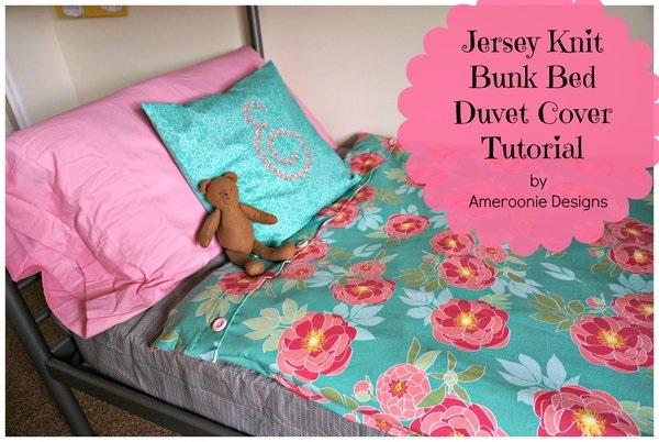 Epic Tutorial Bunk bed duvet covers