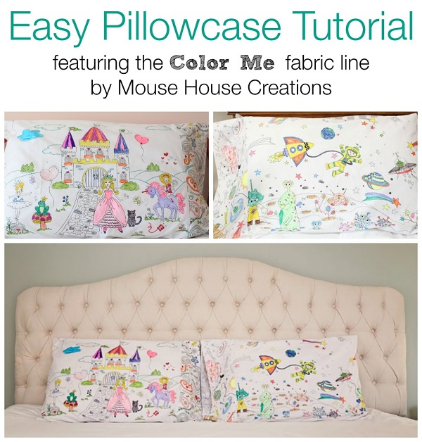 Tutorial: Color Me pillowcase