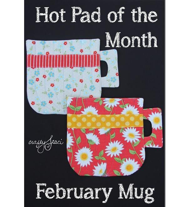 Free pattern: Coffee mug hot pad – Sewing