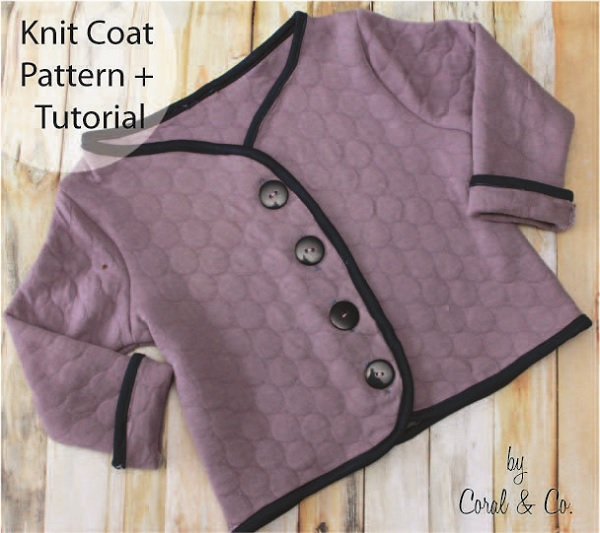Free pattern: Little girl's knit jacket