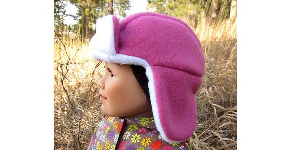 Free pattern: Lumberjack hat for a doll