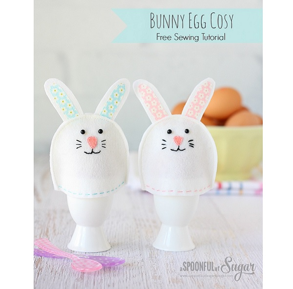 Tutorial: Felt bunny egg cozy