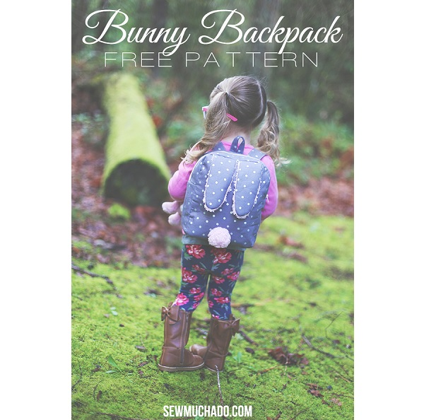 Free pattern: Toddler's bunny backpack