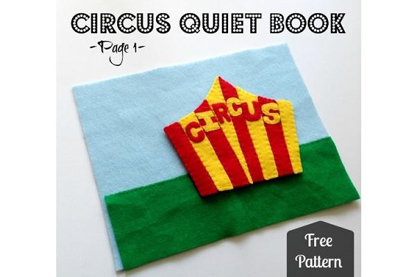 Tutorial: Circus themed quiet book