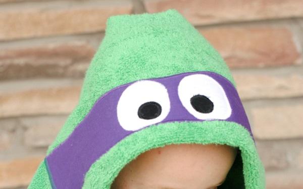 Tutorial: Ninja turtle hooded towel