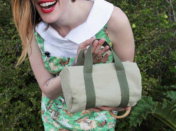 Tutorial: Tiny duffel purse
