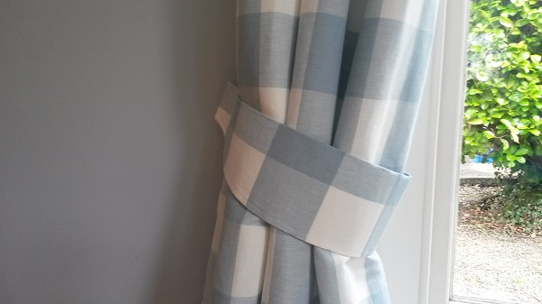 Tutorial Curtain Tie Backs Sewing