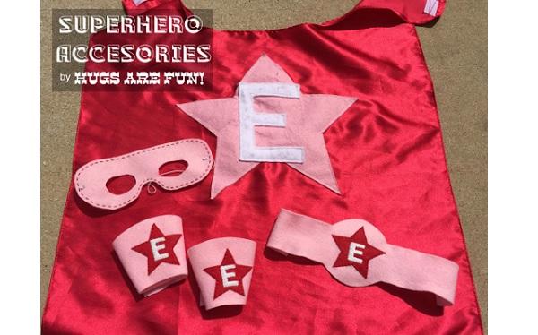 Free pattern: Kids superhero accessories