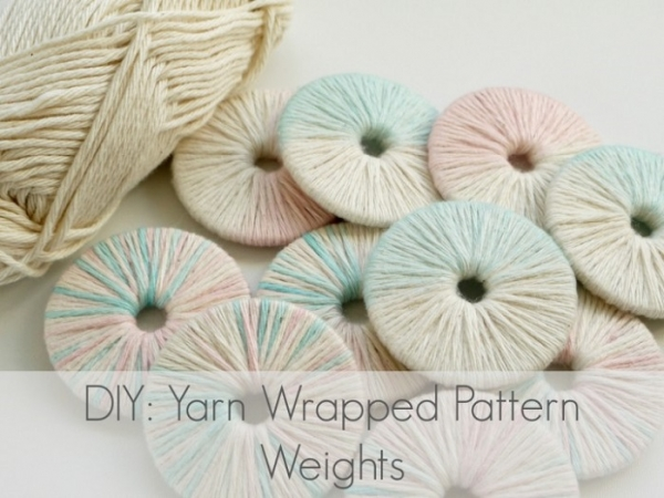 Tutorial: Yarn wrapped pattern weights