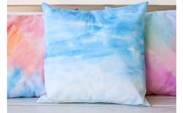 Tutorial: Watercolor on fabric