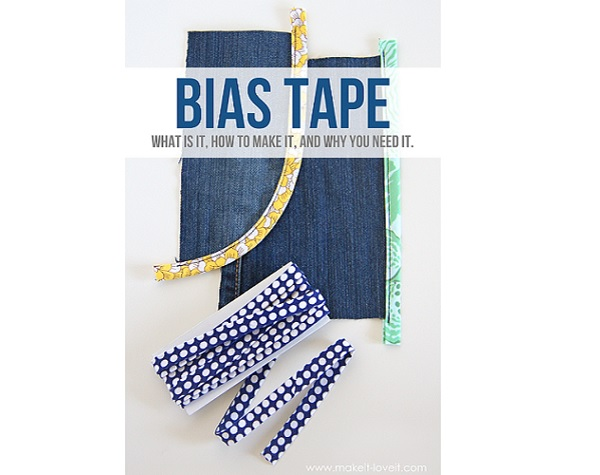 Tutorial: How to make and use bias tape